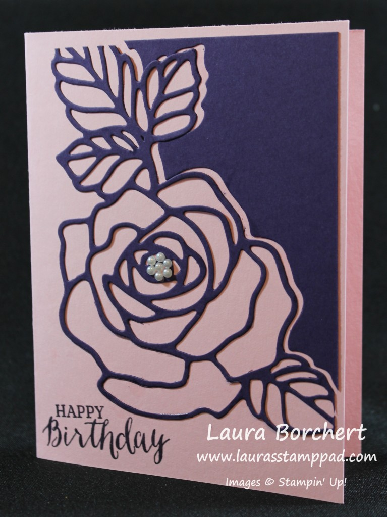 Birthday Roses, www.LaurasStampPad.com