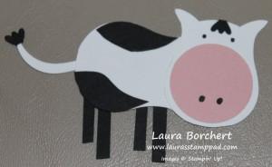 Cow, www.LaurasStampPad.com