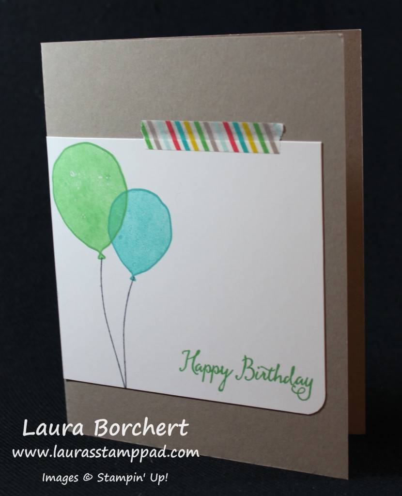 Birthday Boy, www.LaurasStampPad.com