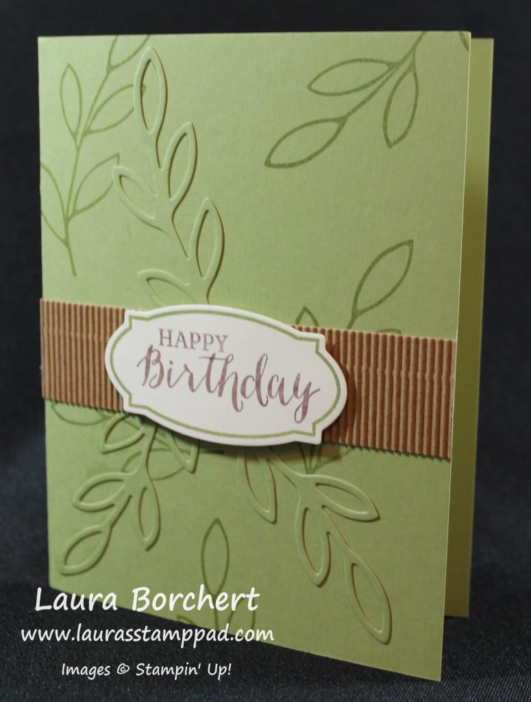 Masculine Birthday Card, www.LaurasStampPad.com