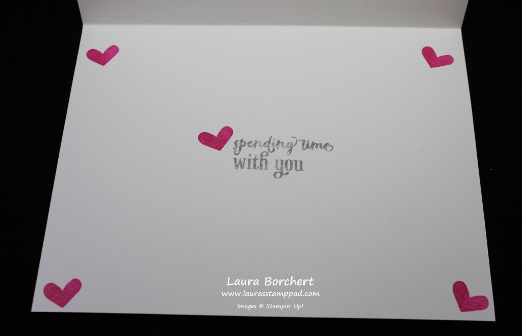 Love Spending Time With You, www.LaurasStampPad.com