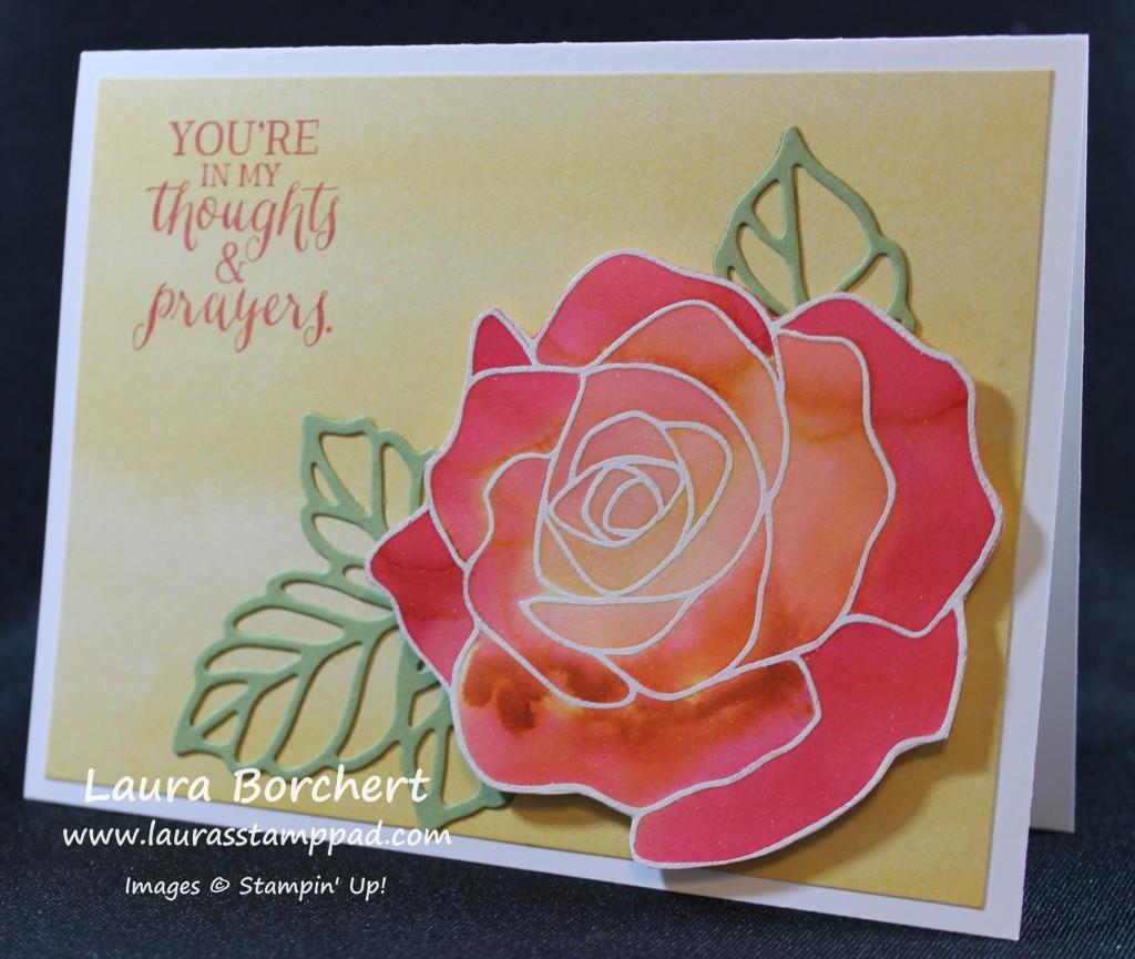 Red Roses, www.LaurasStampPad.com