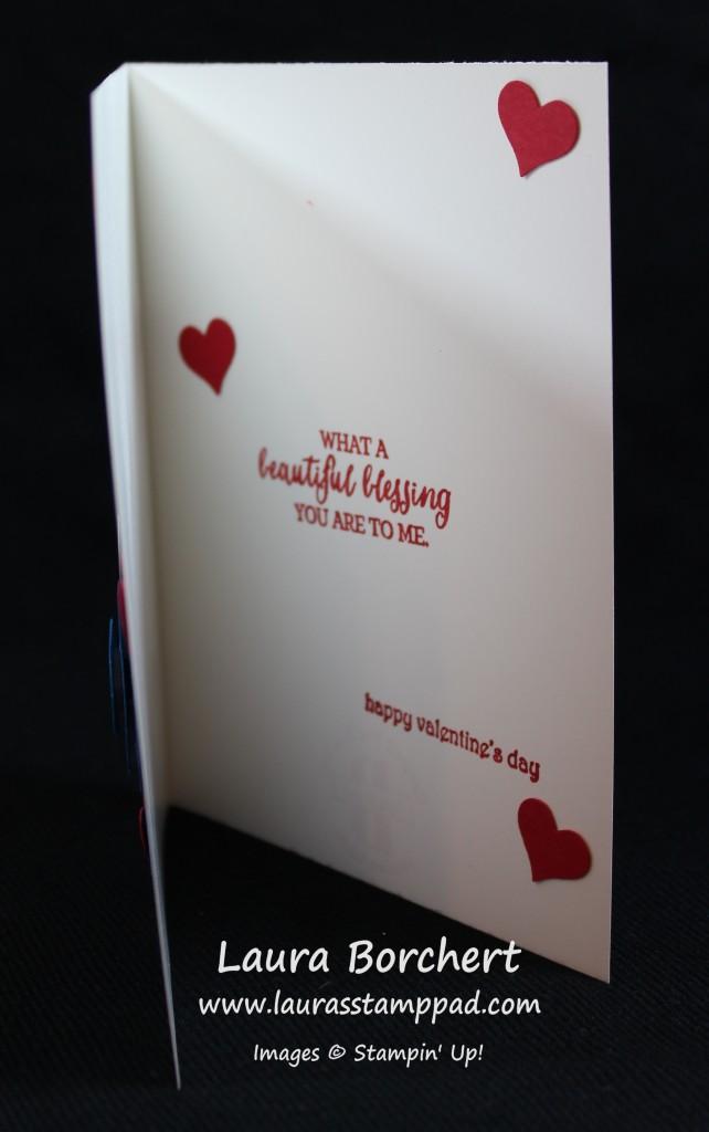 Valentine's Sentiment, www.LaurasStampPad.com