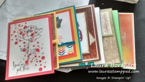 Donated Cards, www.LaurasStampPad.com