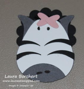 Zebra, www.LaurasStampPad.com