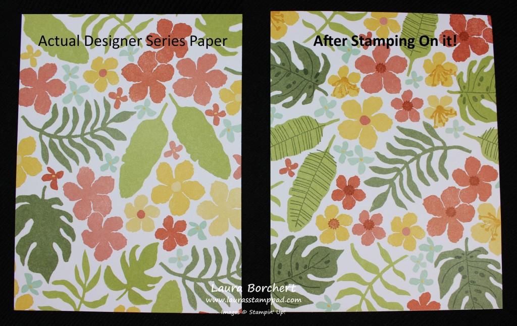 Stamping on Paper, www.LaurasStampPad.com