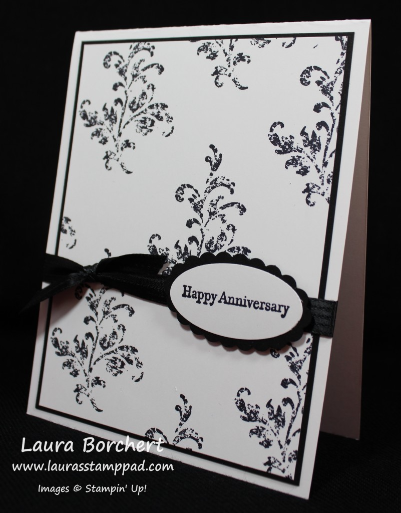 Happy Anniversary, www.LaurasStampPad.com