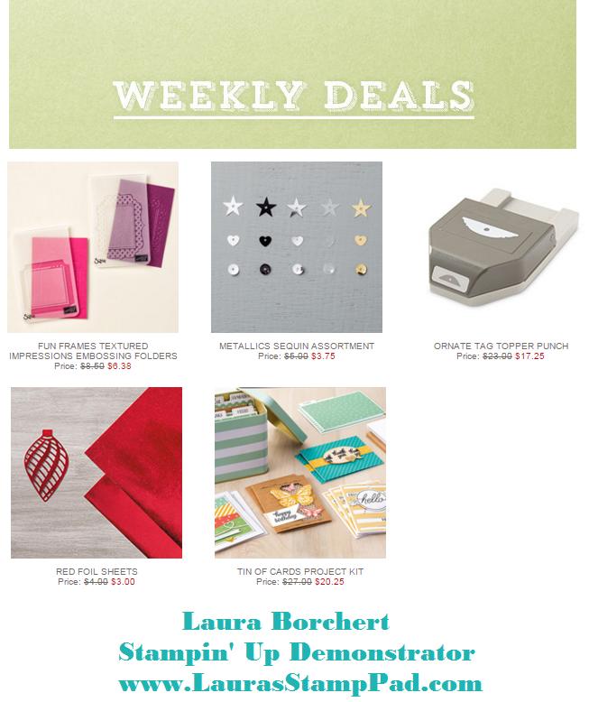 Weekly Deals 3.1.2016