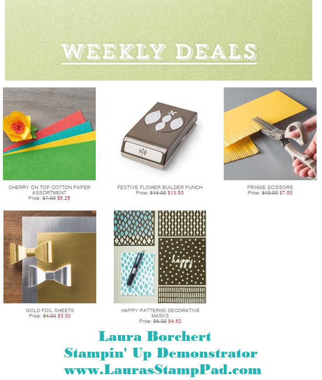 Weekly Deals 3.15.2016