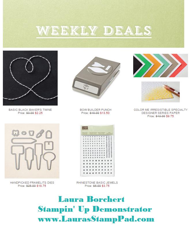 Weekly Deals 3.8.2016