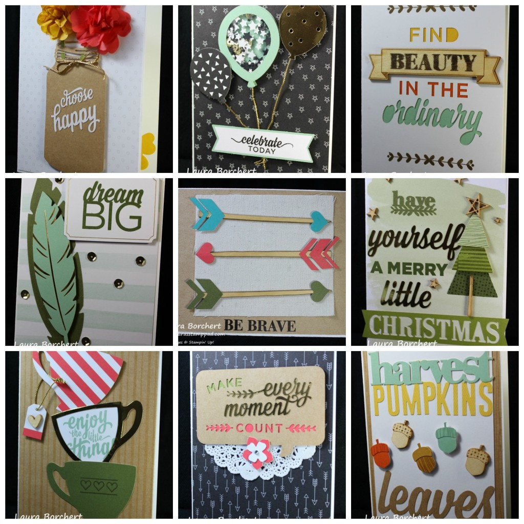Cards For All Year, www.LaurasStampPad.com