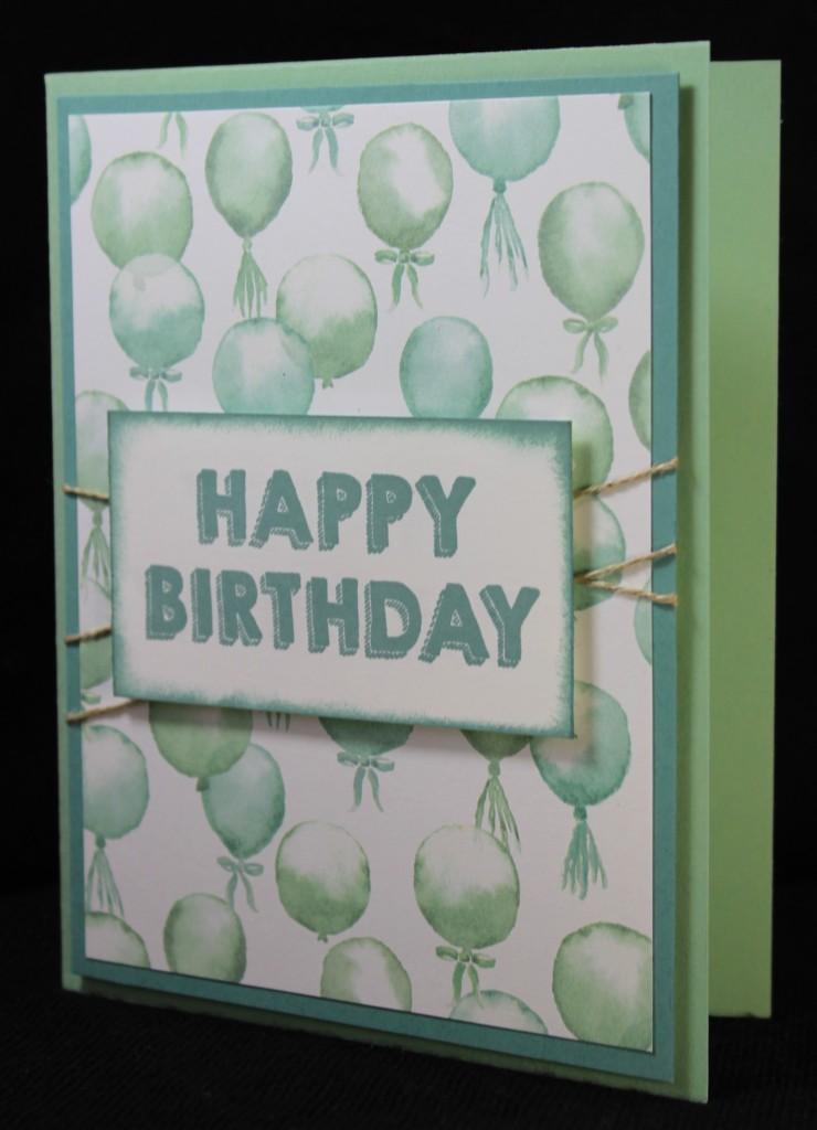 Birthday Boy Balloons, www.LaurasStampPad.com