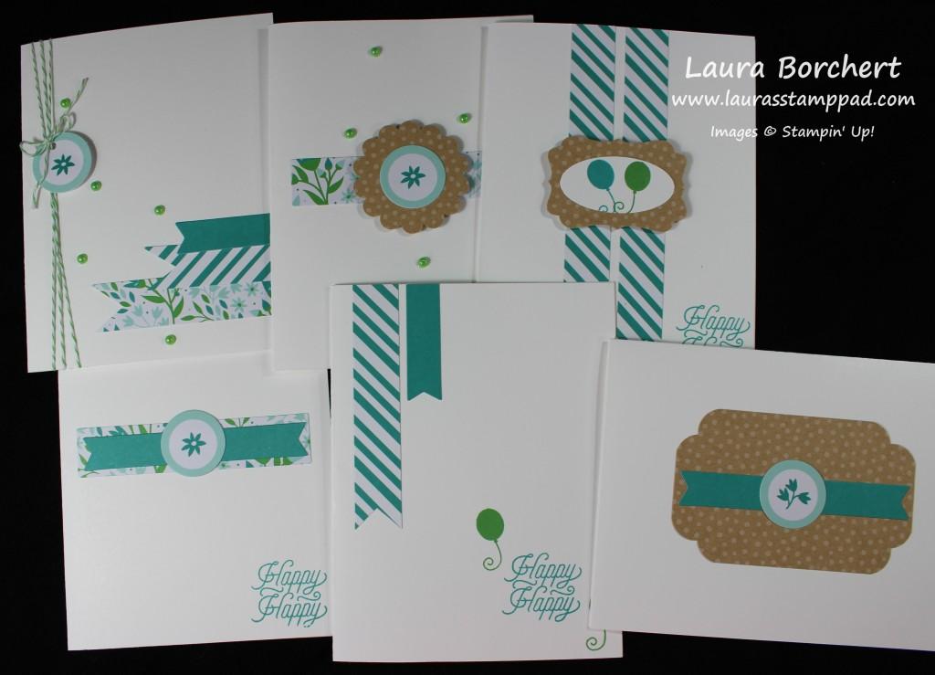 CAS Cards, www.LaurasStampPad.com