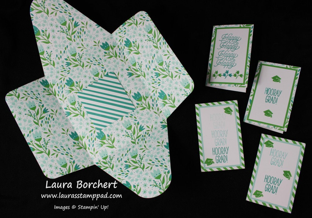 Gift Card Envelopes, www.LaurasStampPad.com