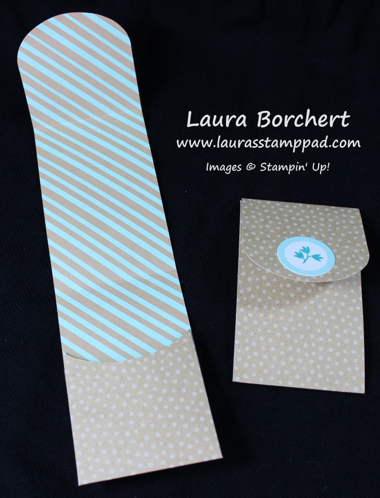 Mini Gift Card Holders, www.LaurasStampPad.com