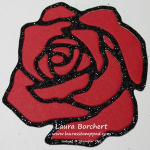 Red Rose, www.LaurasStampPad.com