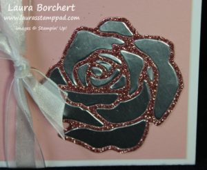 Silver Rose, www.LaurasStampPad.com