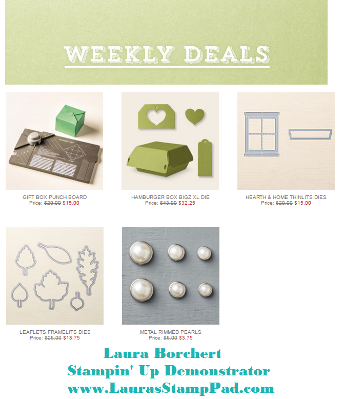 Weekly Deals 3.29.2016