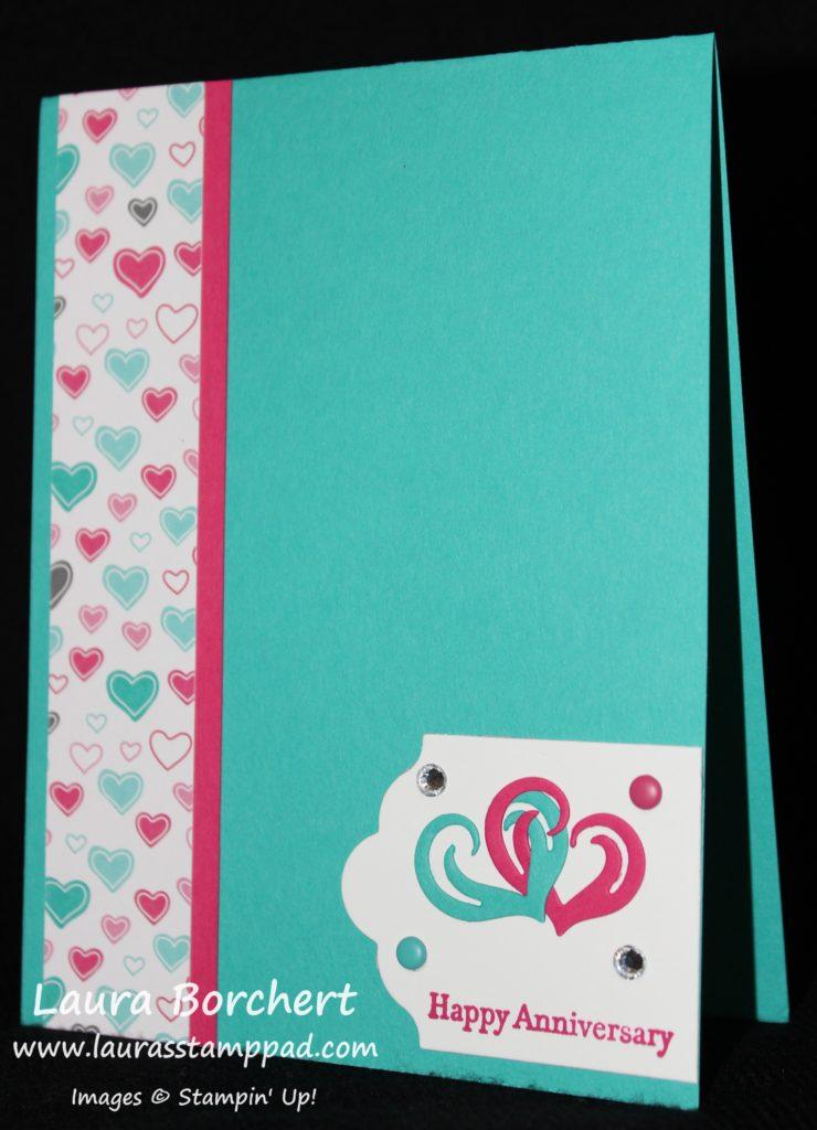 Anniversary Hearts, www.LaurasStampPad.com
