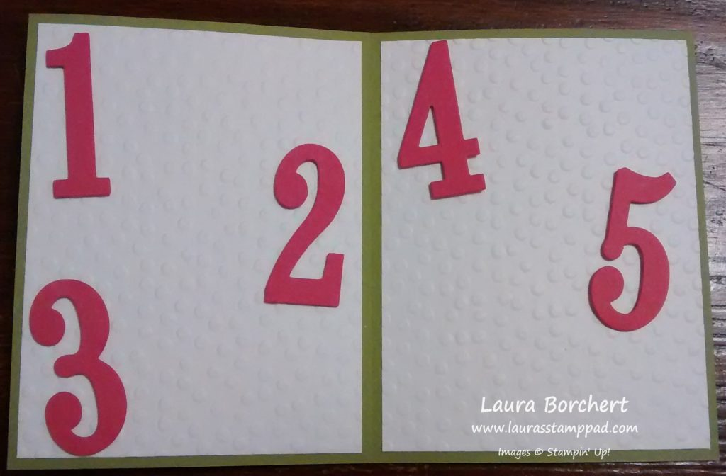 Number of Years, www.LaurasStampPad.com
