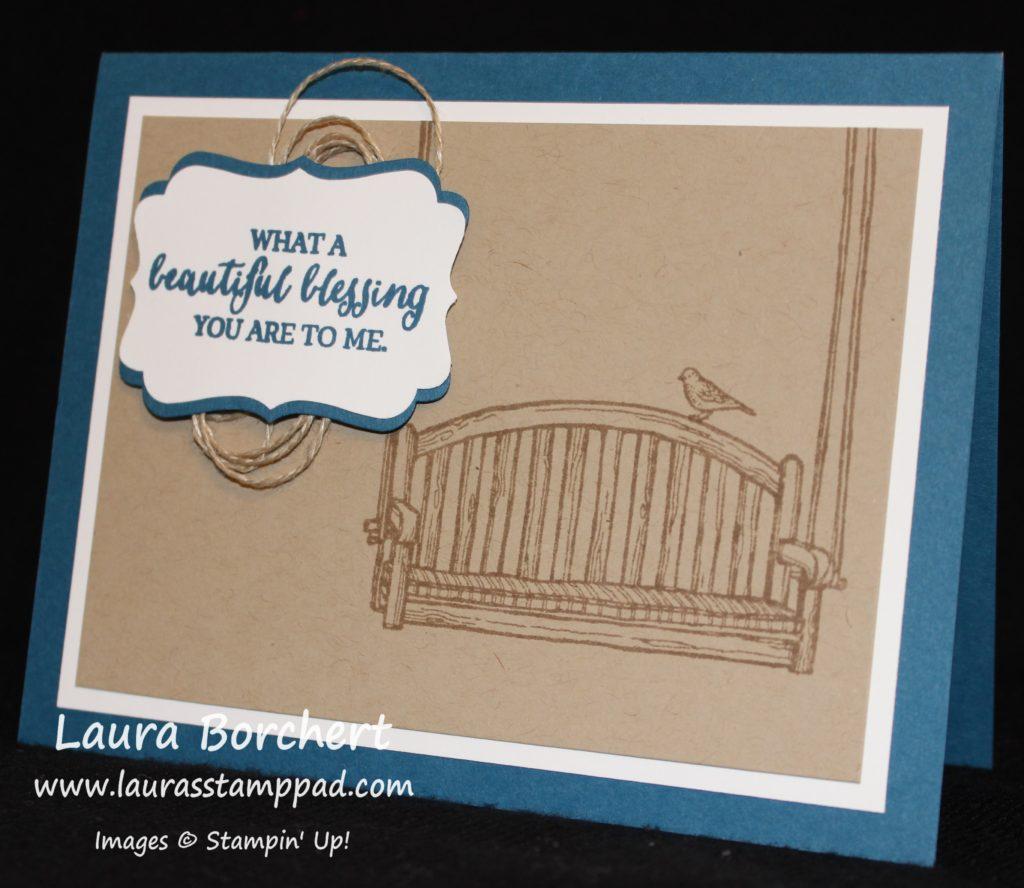 Beautiful Blessing, www.LaurasStampPad.com