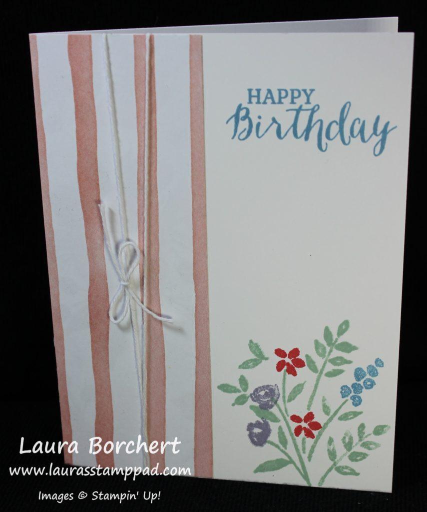 Flower Bouquet, www.LaurasStampPad.com