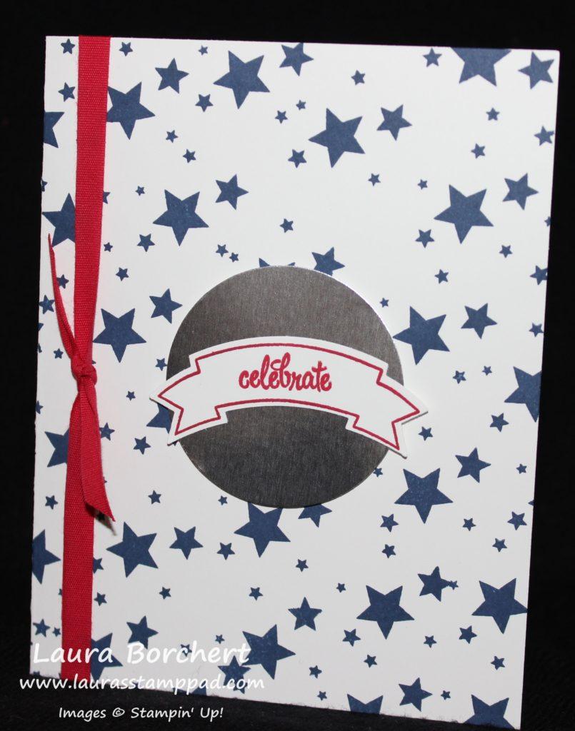 Celebrate USA, www.LaurasStampPad.com