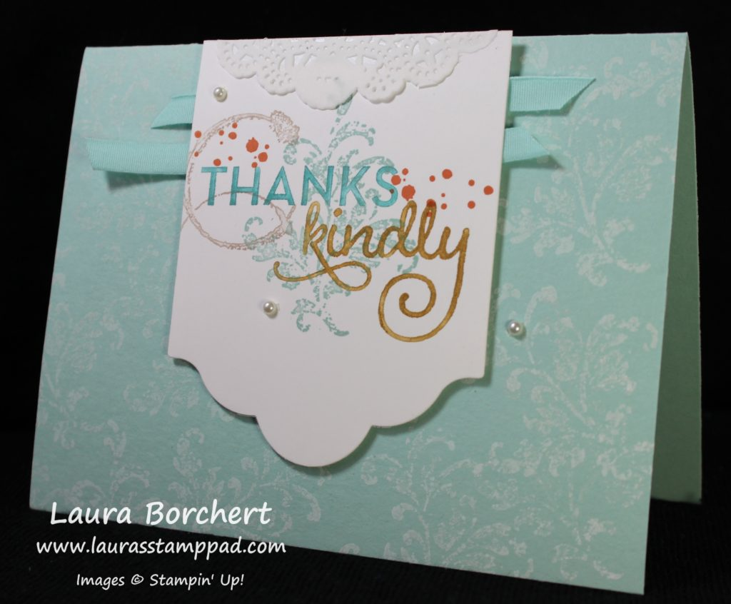 Collage Stamping, www.LaurasStampPad.com