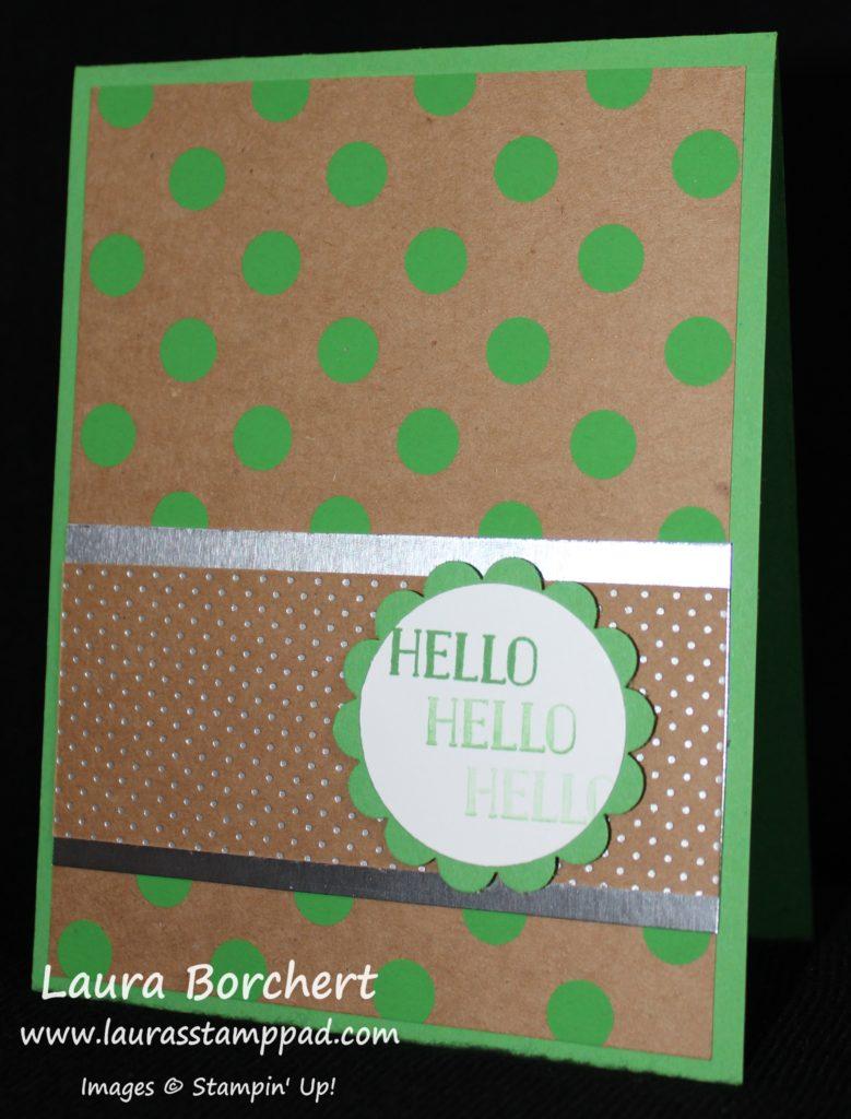 Hello Polka Dots, www.LaurasStampPad.com