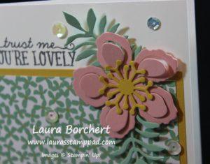 Botanical Flowers, www.LaurasStampPad.com