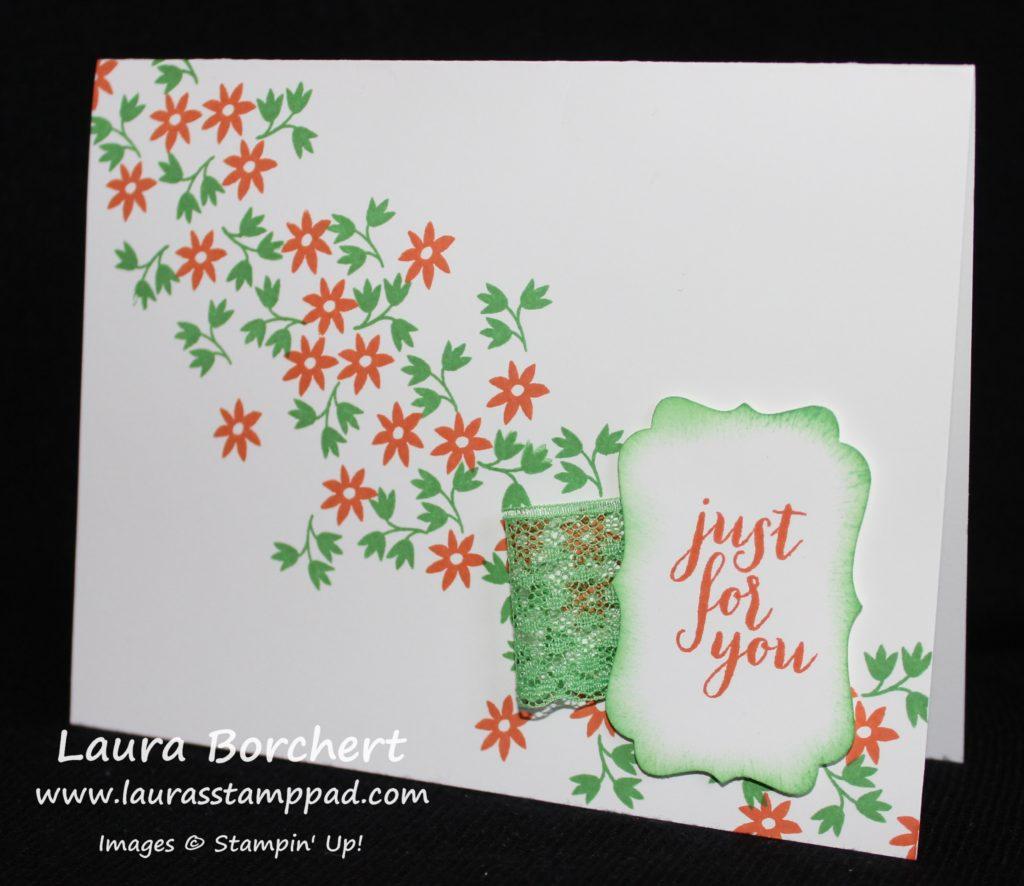 Paper Pumpkin Flowers, www.LaurasStampPad.com