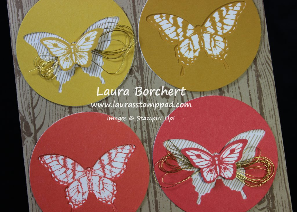 Beautiful Butterflies, www.LaurasStampPad.com