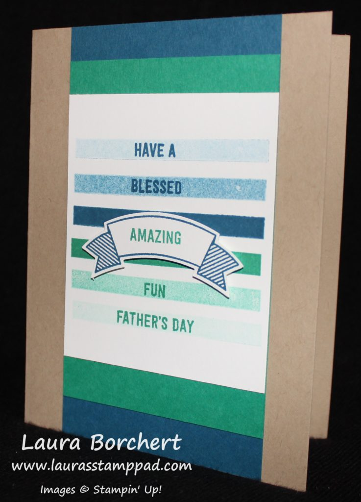Father's Day, www.LaurasStampPad.com