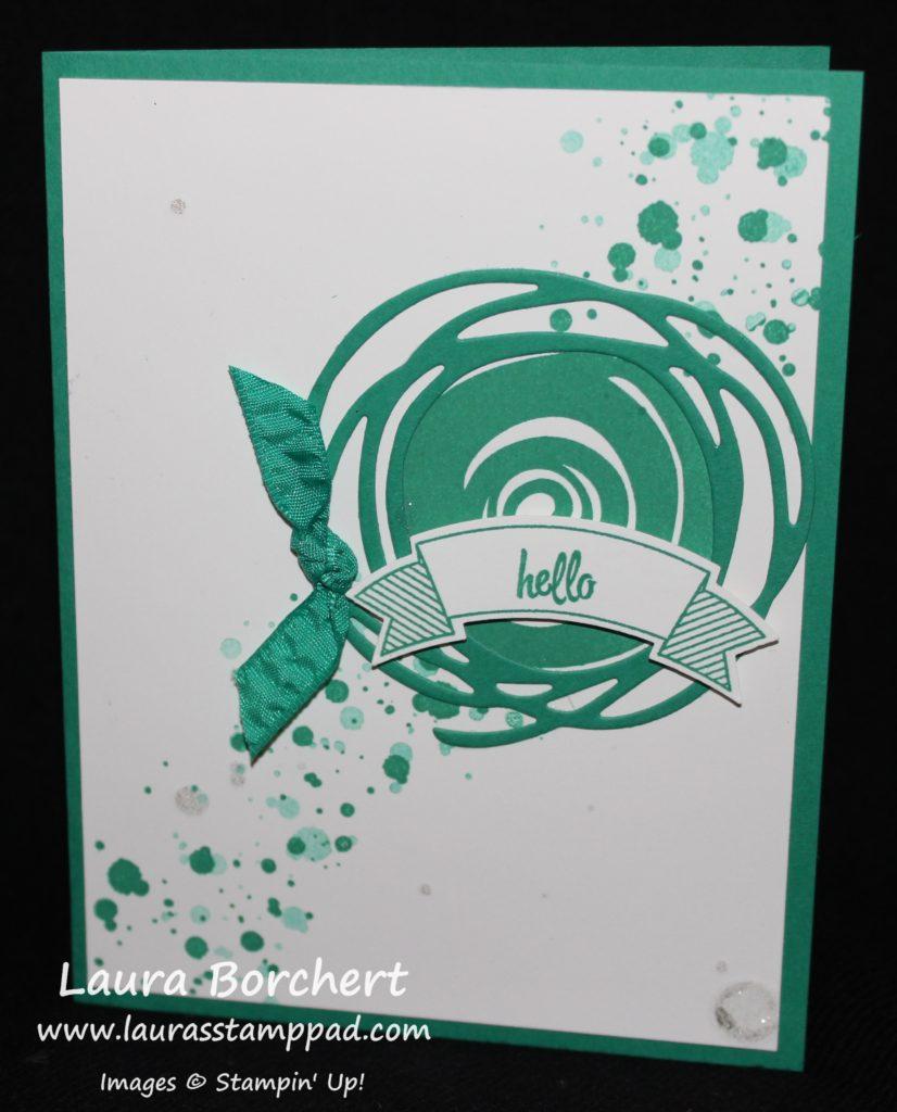 Hello Swirl, www.LaurasStampPad.com