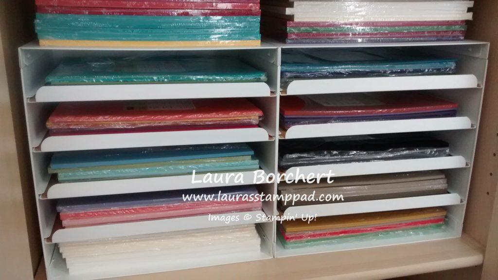 Paper Trays, www.LaurasStampPad.com