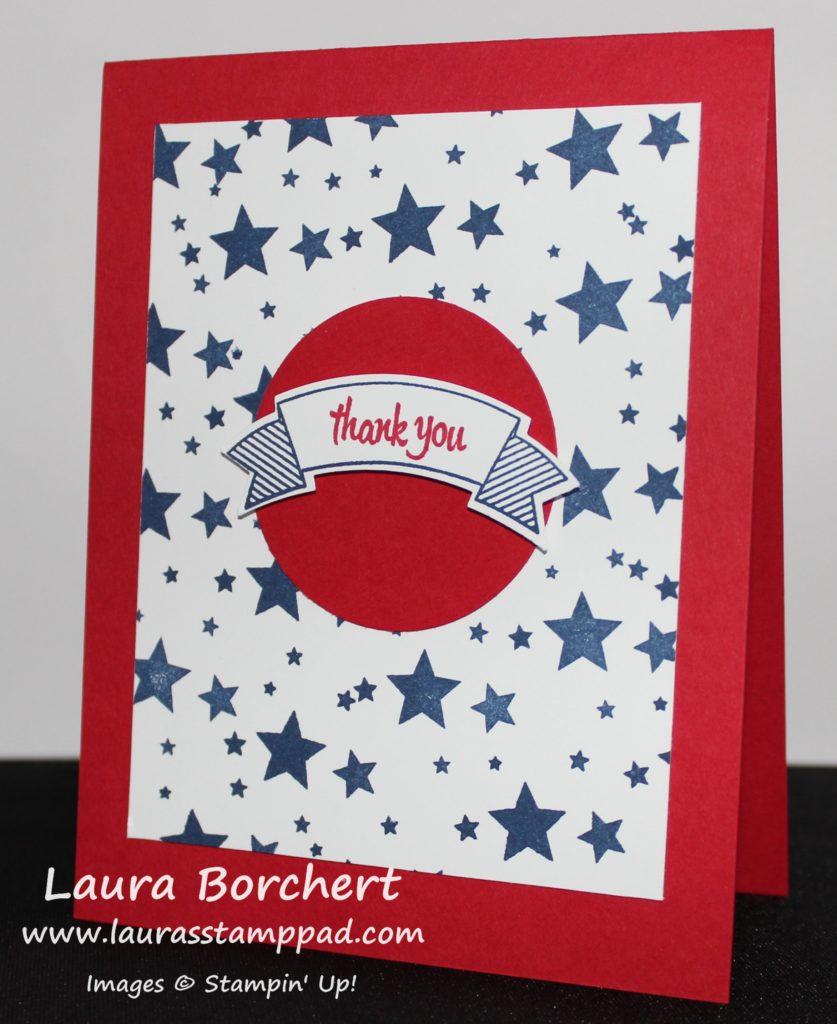 Stars, www.LaurasStampPad.com