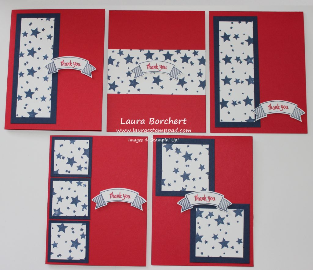 Stars Thank You, www.LaurasStampPad.com