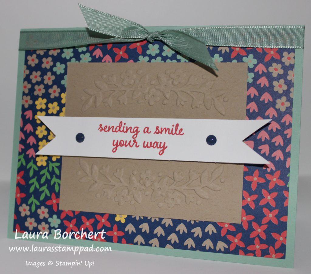 Floral Affection, www.LaurasStampPad.com