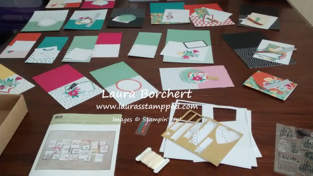 Kit Contents, www.LaurasStampPad.com