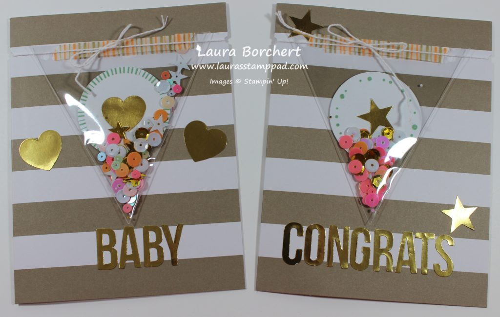 Baby Cards, www.LaurasStampPad.com