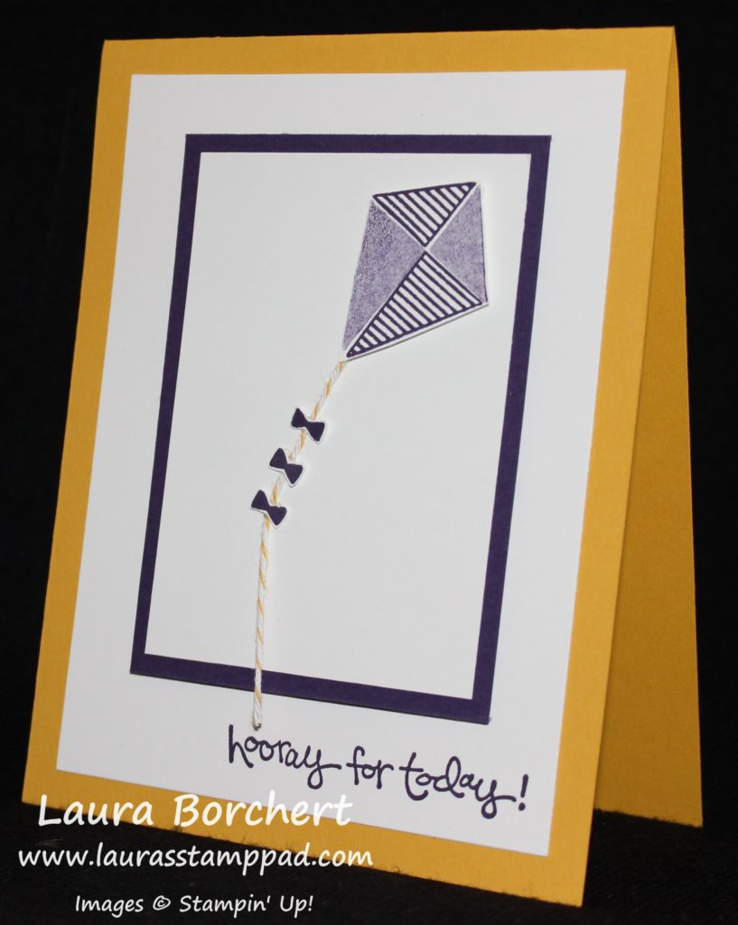 Fly A Kite, www.LaurasStampPad.com