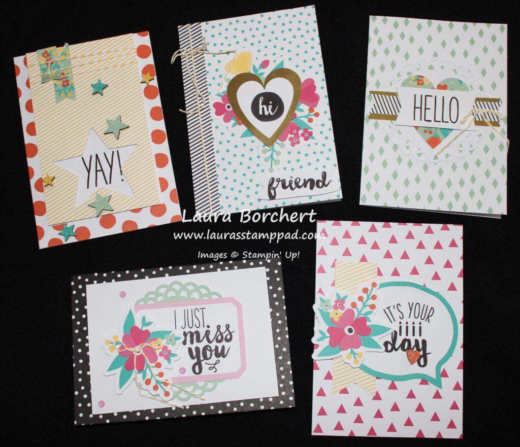 Notecards, www.LaurasStampPad.com