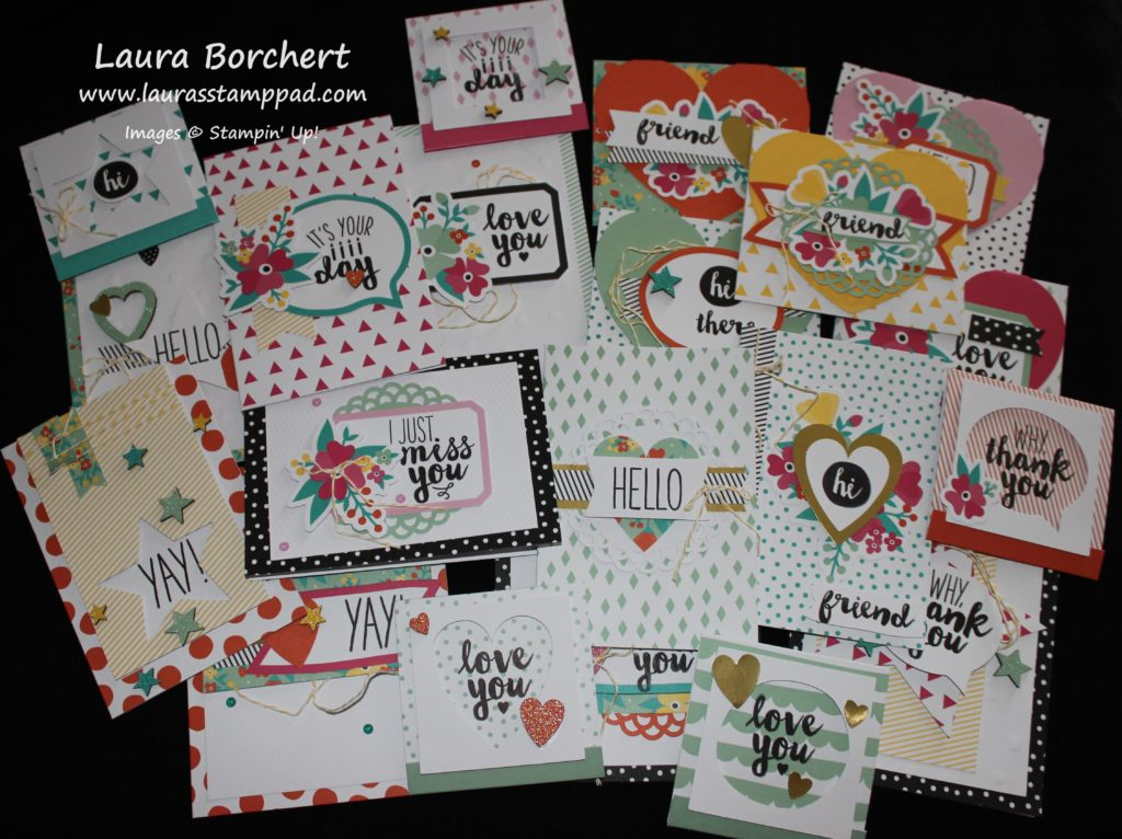Oh Happy Day Kit, www.LaurasStampPad.com