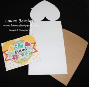 Open Heart Card, www.LaurasStampPad.com