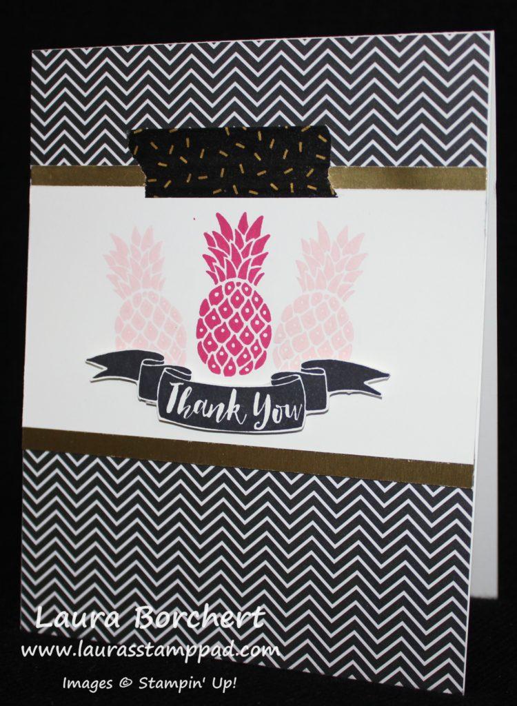 Pineapple, www.LaurasStampPad.com