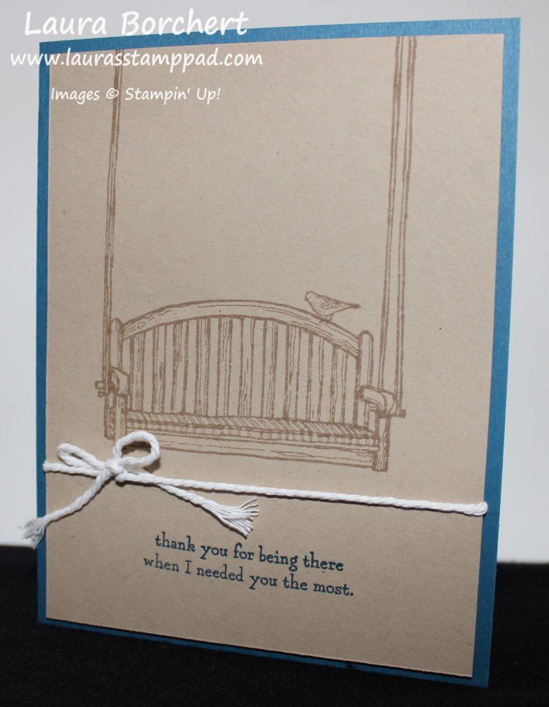 Simple Swing Card, www.LaurasStampPad.com