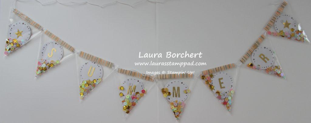 Summer Banner, www.LaurasStampPad.com