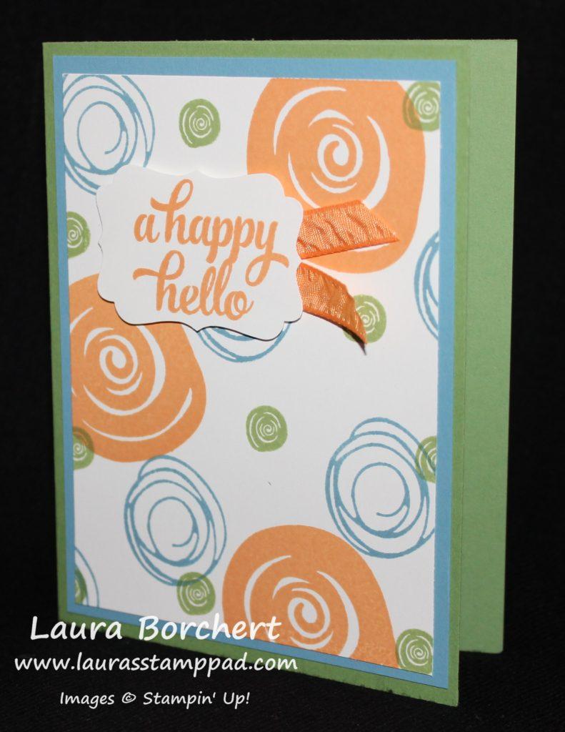 Swirly Background, www.LaurasStampPad.com
