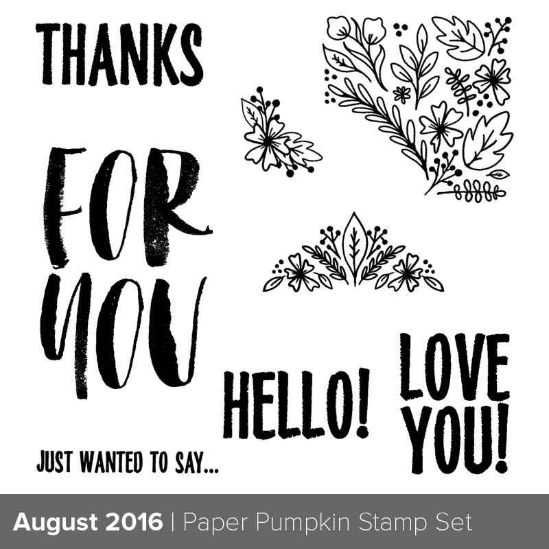 August Paper Pumpkin Sneak Peak, www.LaurasStampPad.com