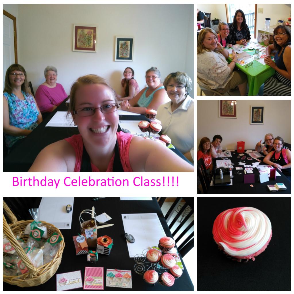 Birthday Celebration, www.LaurasStampPad.com